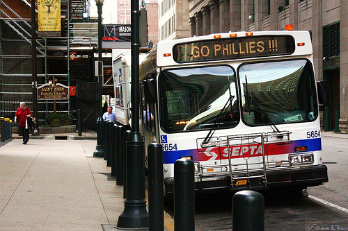 SEPTA Bus, Go Phillies